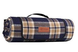 Wunderschöne klassische karierte Picknickdecken Wasserdicht