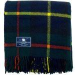 Macleod of Harris Premium Woll Tartan / Schottenmuster Wolldecke